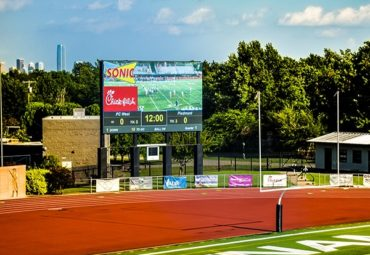 Putnam City Video Wall Scoreboard