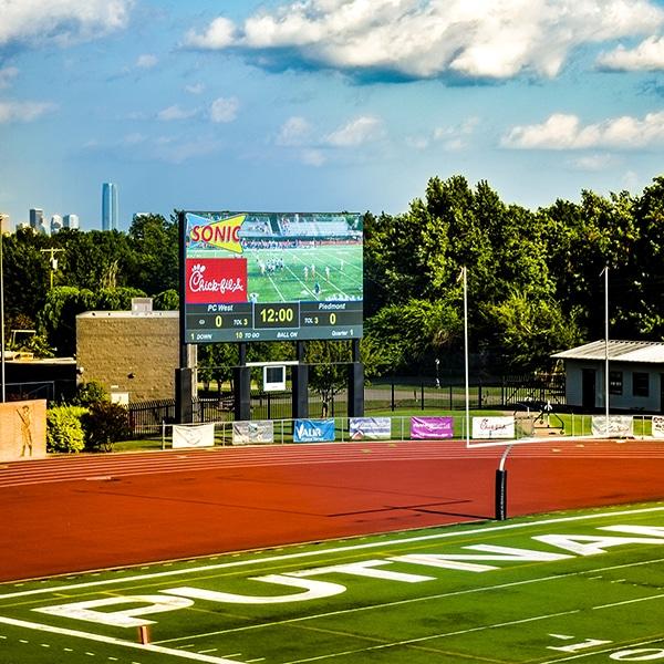 Putnam City Video Wall Scoreboard